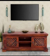solid sheehsam wood Entertainment unit