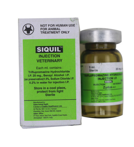 SIQUIL 5ML INJECTION-TRIFLUPROMAZINE HYDROCHLORIDE+