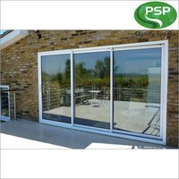 Triple Track Sliding UPVC Door