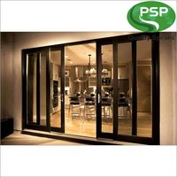 Brown UPVC Sliding Door