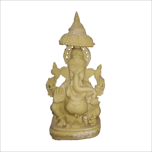 Wooden Handicraft Ganesh Statue