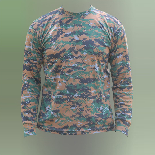 Army Full Sleeve T-Shirt