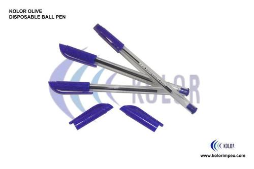 Olive Disposable Ball Pen