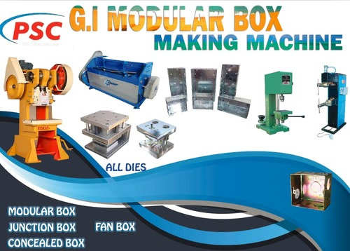 MS Modular Box Making Machine