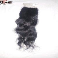 Virgin  Lace Closure Black Women Hair