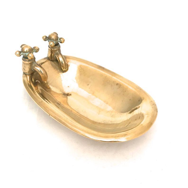 Brass Bath Soap Dish