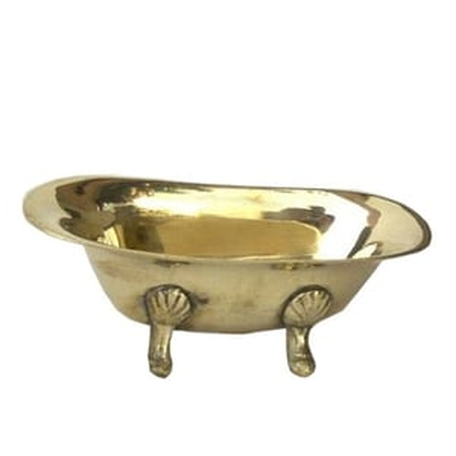 Brass Bath-Tub Dish
