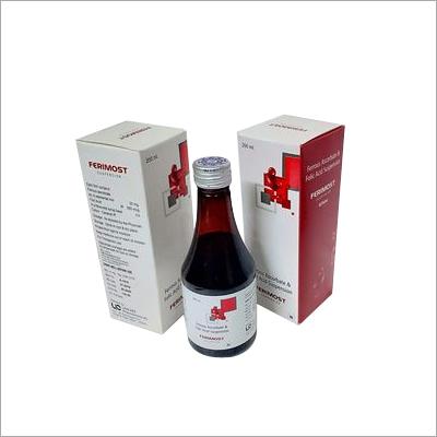 Ferrous Ascorbate 30mg, Folic acid 550mcg suspension