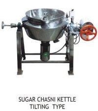Sugar Chasni Kettle Tilting Type