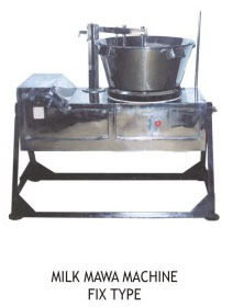 Milk Mawa Machine Fix Type Gas operated