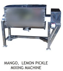 Ribbon Blender Masala Powder Mixing Machine
