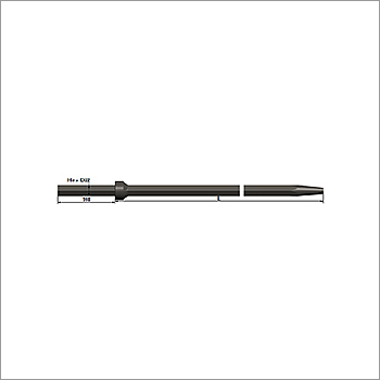 22 x 108 Rock Drill Taper Rod Shanks