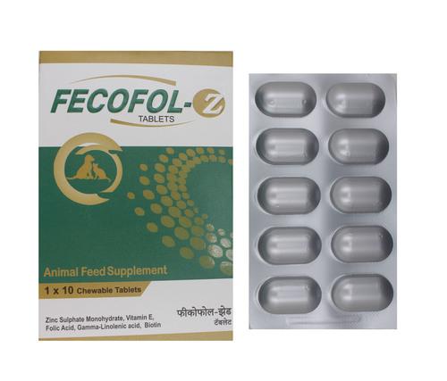 Fecofol Z Vitami E 100mg Folic Acid