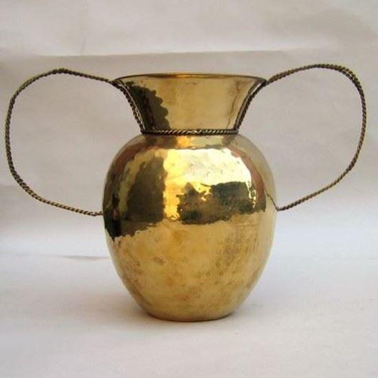 Brass Vase Rope Handles