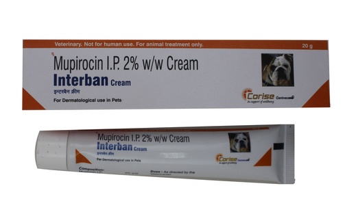 Interban Cream 20gm Mupirocin