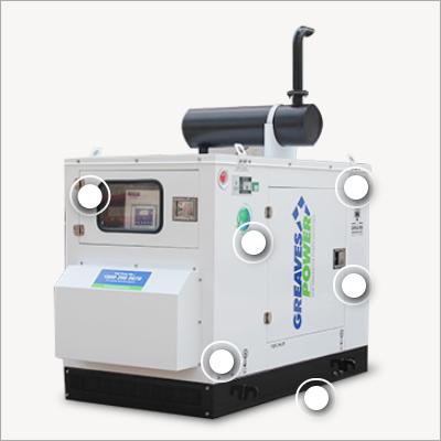 45A kVA Industrial Genset