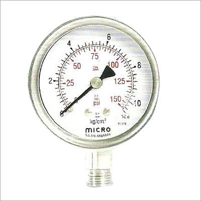 63 MM Bottom Mounting Weather Proof Pressure Gauge