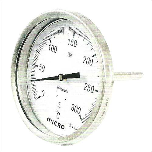 150 MM Back Dierct Mounting Bimetal Temperature Gauge