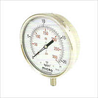 150 MM Bottom Mounting Glycerin Filled Pressure Gauge