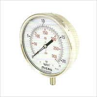 150 MM Bottom Mounting Glycerin Filled Pressure Gauge