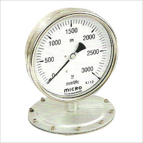 150 MM Low Pressure Diaphragm Pressure Gauge