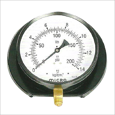 Surface Mounting Utility Pressure Gauge