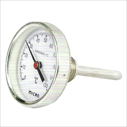 63 MM Back Direct Mounting Bimetel Temperture Gauge
