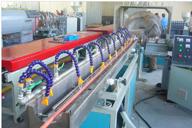 PVC Garden Pipe Making Machine