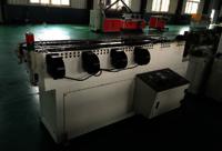PVC single wall corrugated pipe machine