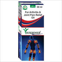 Arthritis And Joint Pain Relief Oil