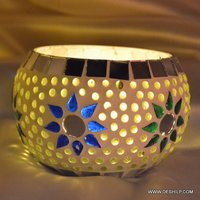 Votive Glass Mosaic