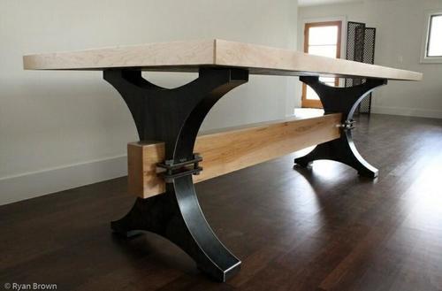 Industrial Vintage Dining Table