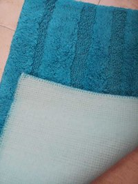 Bath Mat with Anti Skid Rubber Back