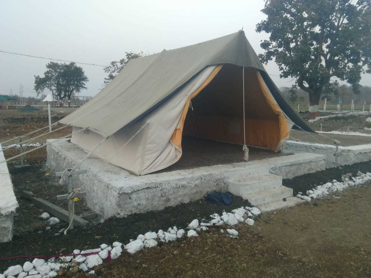 Double Fry Tent