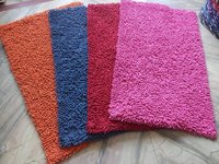 Shaggy Bath Mat Cotton Chenille