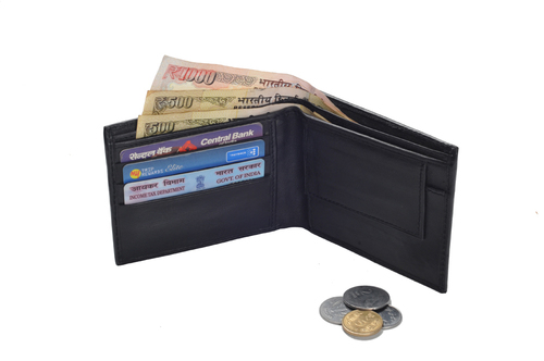Gents Sheep Leather Wallet (X810)