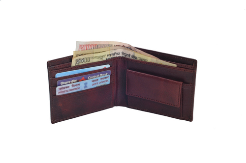 Gents Goat Leather Wallet (X811)