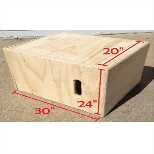 Wood Plyometric Box