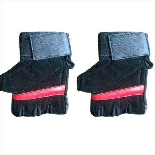 Gym Gloves With Wrist Strap