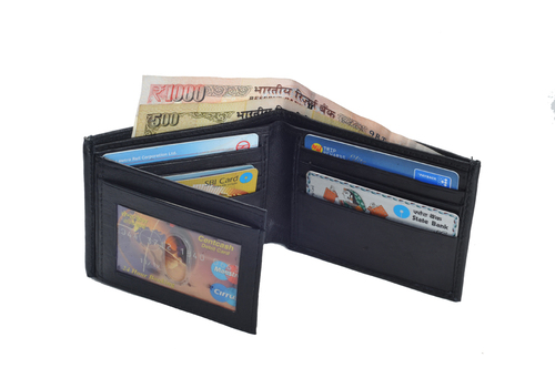 Gents Sheep Leather Wallet (X814)