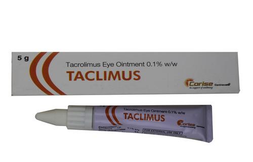 0.1%w/w Taclimus 5gm-tacrolimus Ointment