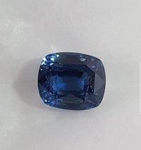 Heated Ceylon Sapphire