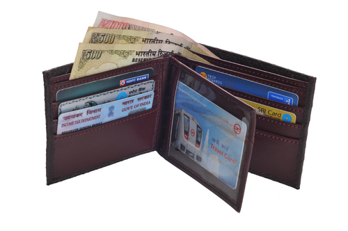 Gents Leatherite Wallet (X820)