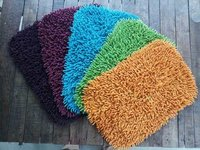 Shaggy Bath Mat RC Shape