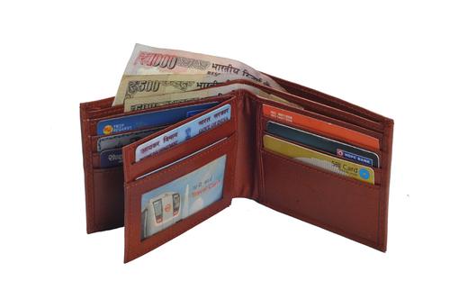 Gents Vt Leather Wallet (X822)