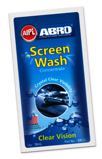 Windshield washer concentrate & screen wash