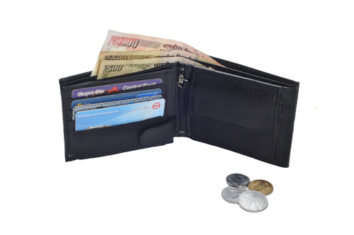 Gents Pdm Leather Wallet (X825)