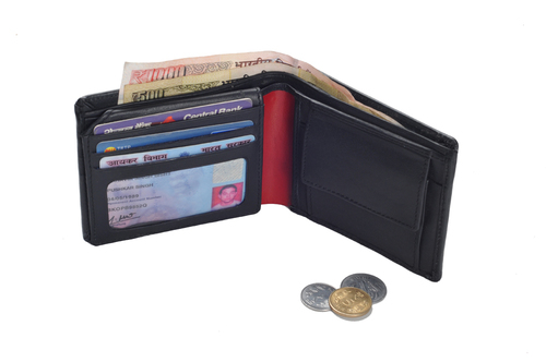 Gents Italian Leather Wallet (X826)