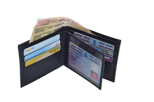 Gents Pdm Leather Wallet (X827)