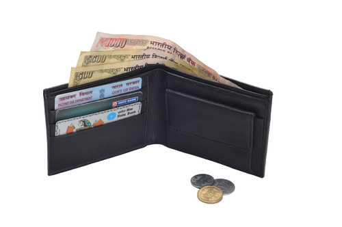 Gents Sheep Leather Wallet (X828)
